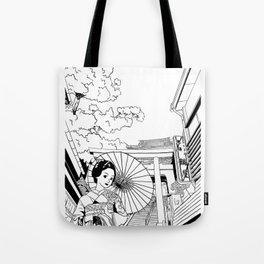 Enoshima - Kanagawa-ken Tote Bag