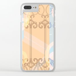 Celestial Chains Clear iPhone Case