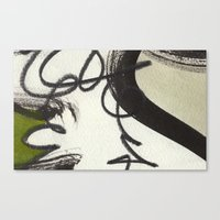 wooden Canvas Prints featuring Wooden by RADLabs