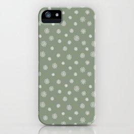 Maddie in green iPhone Case