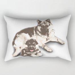 German Shepard  Rectangular Pillow