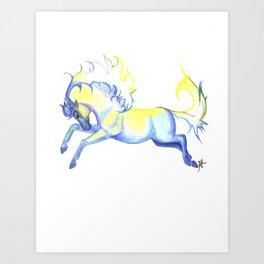 Air Horse Art Print