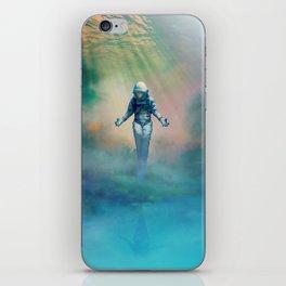 Crucified in Time iPhone Skin