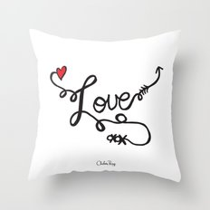 All You Need Is... Throw Pillow