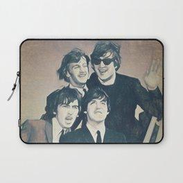 Beatle - John, Paul, George, and Ringo Laptop Sleeve