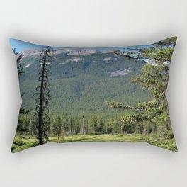 Beautiful Bow Valley Rectangular Pillow