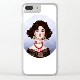 Katherina Clear iPhone Case
