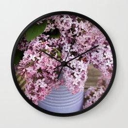 Flower Photography by Kamala Saraswathi Wall Clock