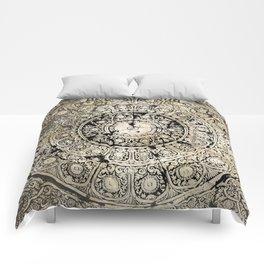 BLACK & GOLD MANDALA ARMARRI OKRE Comforters