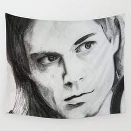 Kurt Portrait Wall Tapestry