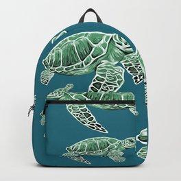 Green Sea Turtles Backpack