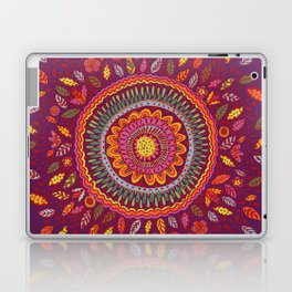 Leafy Fall Mandala Laptop & iPad Skin