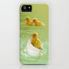 Küken iPhone Case