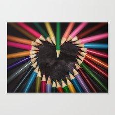 A Creative Heart Canvas Print