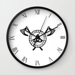 Norse Axe - Celtic Knot Wall Clock