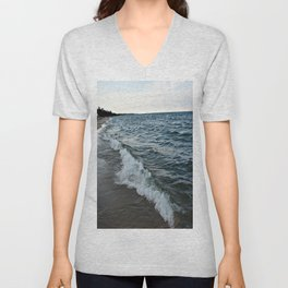 Rough Waters Unisex V-Neck