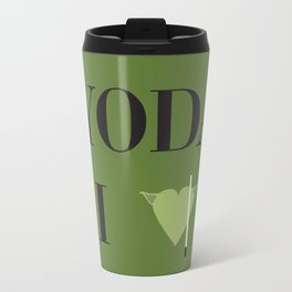 I heart Yoda Travel Mug