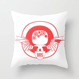 BBS v. SSR (Capt America version) Throw Pillow