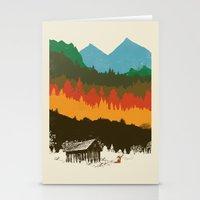 hunting Stationery Cards featuring Hunting Season by dan elijah g. fajardo