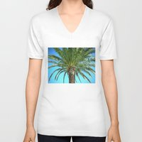 hawaii V-neck T-shirts featuring Hawaii by Etsua de Ost See