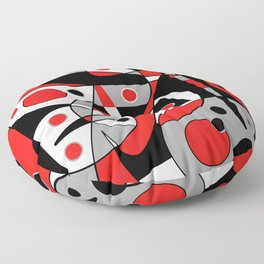 Abstract #962 Floor Pillow