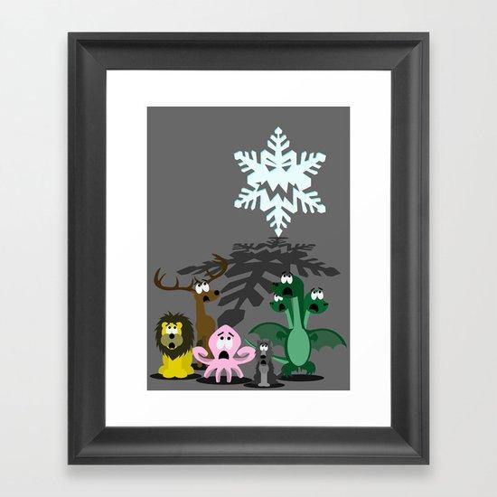 Winter is Coming... Framed Art Print