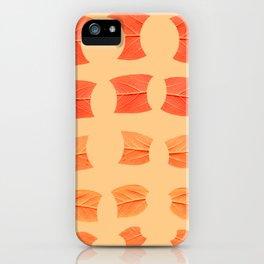 Leaf Bytes iPhone Case