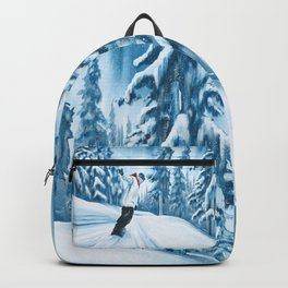 Dropping The Dream Forest Backpack