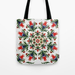 Turkish tulip - Ottoman tile 1 Tote Bag