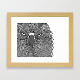 GinaMirandArt-Eagle Totem Framed Art Print