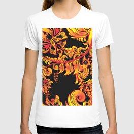 Fire ornament T-shirt