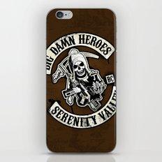 Big Damn Heroes iPhone & iPod Skin