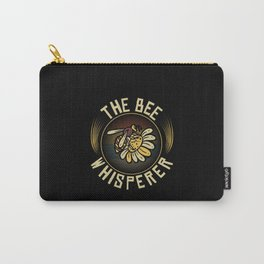 The Bee Whisperer Beekeeper Beekeeping Carry-All Pouch