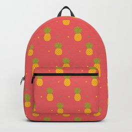 Coral Pineapple Backpack