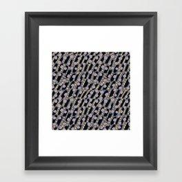 Tundra. Winter time. Framed Art Print