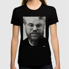 R.I.P Philip Seymour Hoffman Womens Fitted Tee LARGE Black