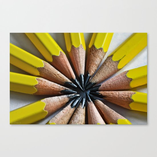 Lead In My Pencil Canvas Print