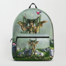 Earth Elemental Fairy Backpack