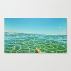 Staycation, yeah right. Canvas Print