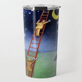Reaching for the Moon Travel Mug