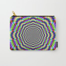 Psychedelic Octagon Pulse Carry-All Pouch