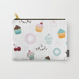 Cupcake Pastry Background - Colored 07 Carry-All Pouch