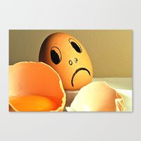 eggs Canvas Prints featuring eggs by  Agostino Lo Coco