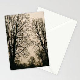 March Trees Stationery Cards