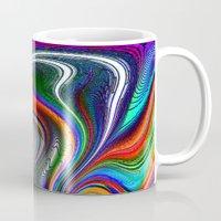 oriental Mugs featuring Oriental Vapours by David  Gough