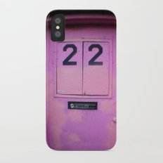 Pink Door Slim Case iPhone X