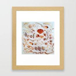 Fire Crab! Framed Art Print