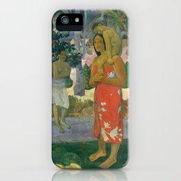 Hail Mary by Paul Gauguin, 1891 iPhone Case