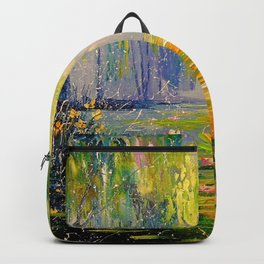 Fabulous pond Backpack