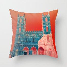 Notre Pop de Montreal Throw Pillow